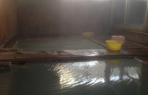 寺の湯の湯船の様子