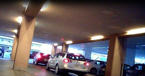 ゆーゆの駐車場