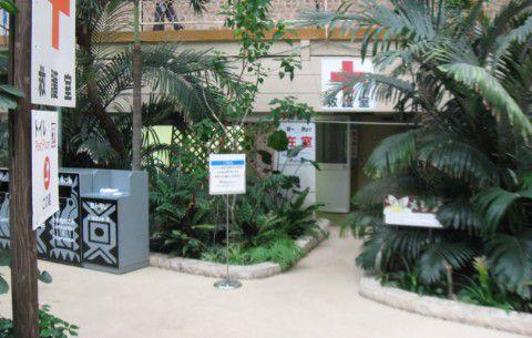 ウォーターパーク救護室