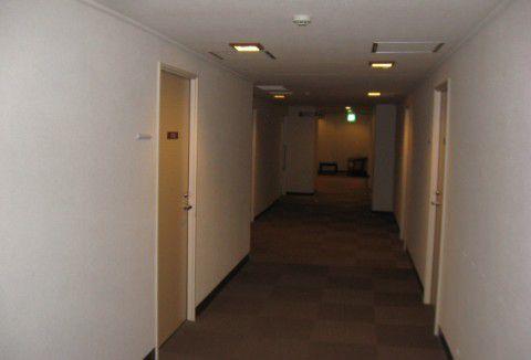 ハワイアンズホテル廊下