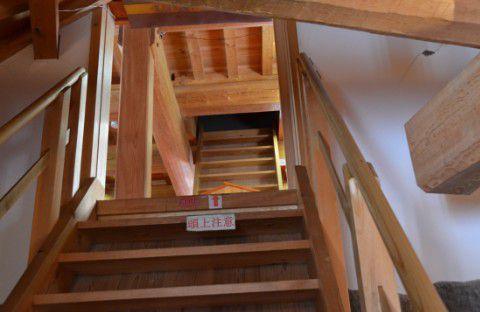 鶴ヶ城階段