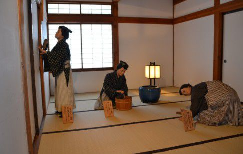 江戸時代のそうじ風景