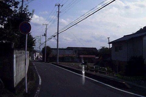 桐生が岡遊園地・動物園付近の道路