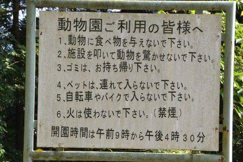 桐生が岡動物園お願い