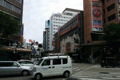 アパホテル金沢中央外観