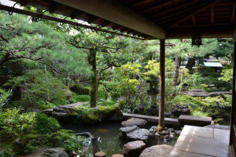武家屋敷跡野村家の庭園