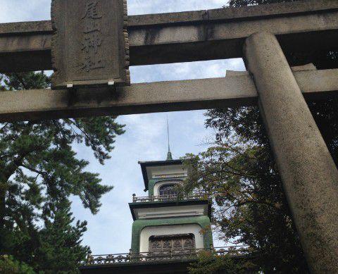 尾山神社 鳥居