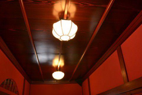 茶屋の天井