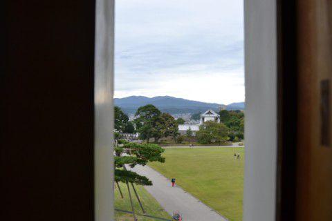 菱櫓からの眺め
