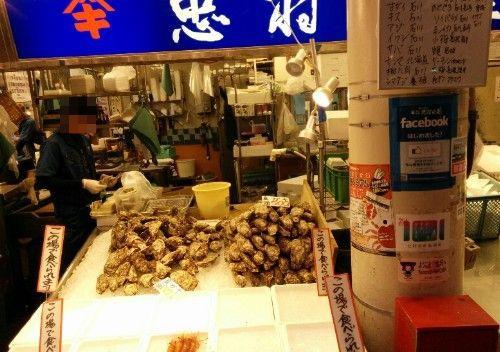 近江町市場の様子