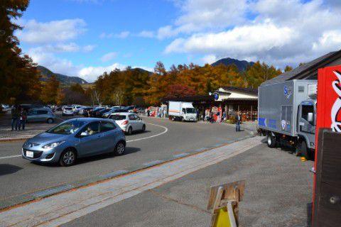 戦場が原駐車場