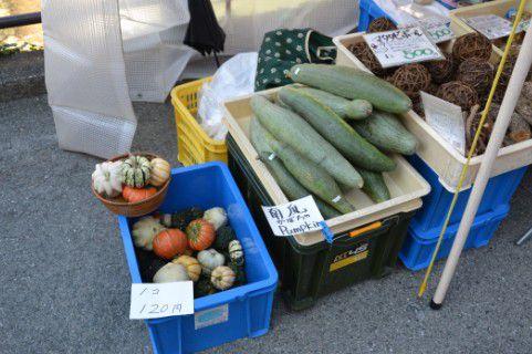 宮川朝市の朝採れ野菜