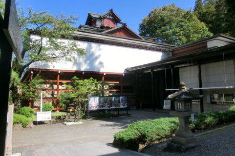 高山祭屋台会館正面入口