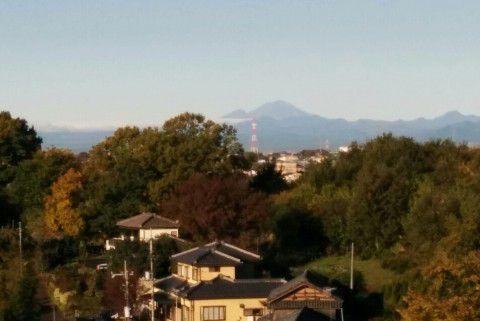 浅間山も見られる