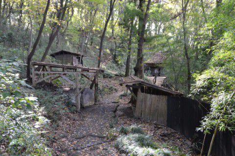 江戸時代の農村風景
