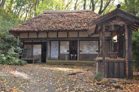木枯らし紋次郎の生家
