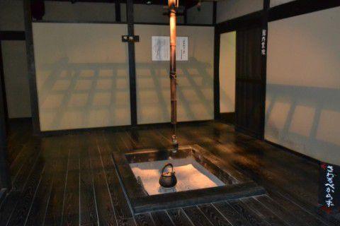 木枯らし紋次郎記念館かかわりーな内部