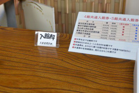 藪塚本町歴史民俗資料館 入口