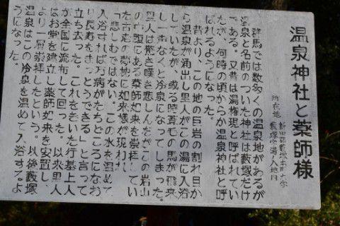 温泉神社説明パネル