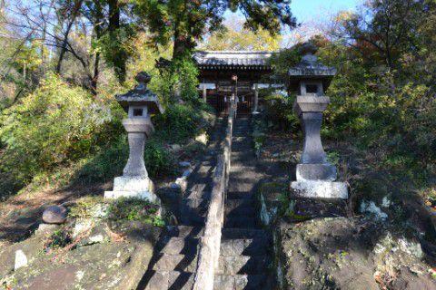 温泉神社外観