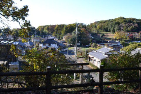温泉神社からの眺め
