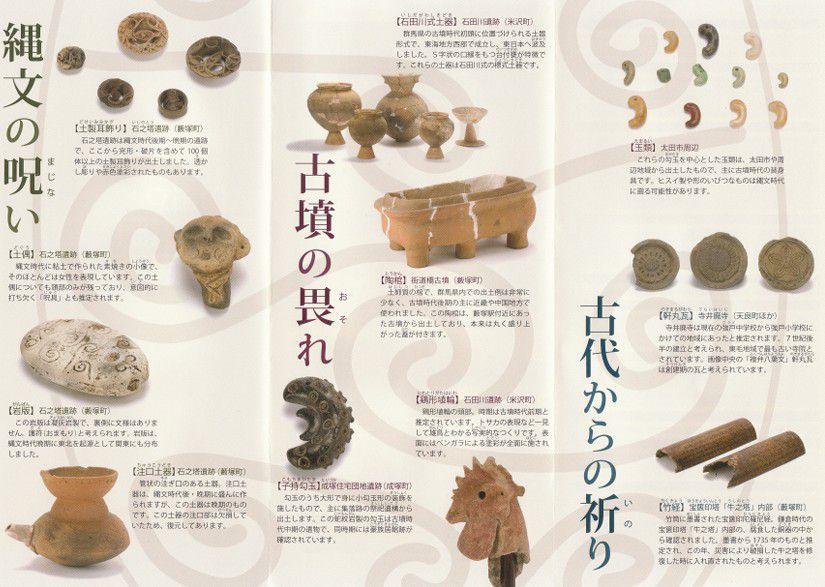 藪塚本町歴史民俗資料館パンフレット
