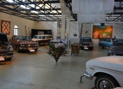 桐生自動車博物館 館内の様子