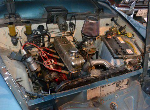 トヨペットマスターラインRS261型 エンジン