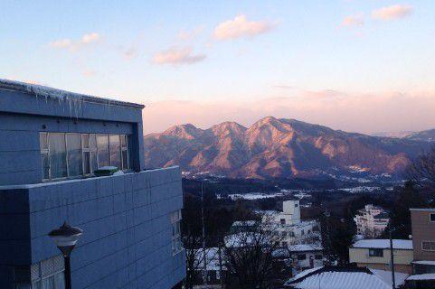 ホテル木暮からの景色