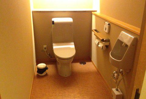 貸し切り風呂トイレ