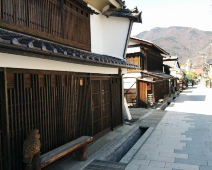 柳町の街並