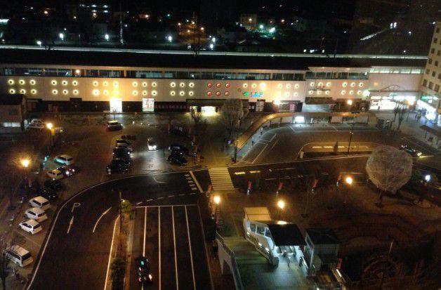 サンルートホテル上田の展望