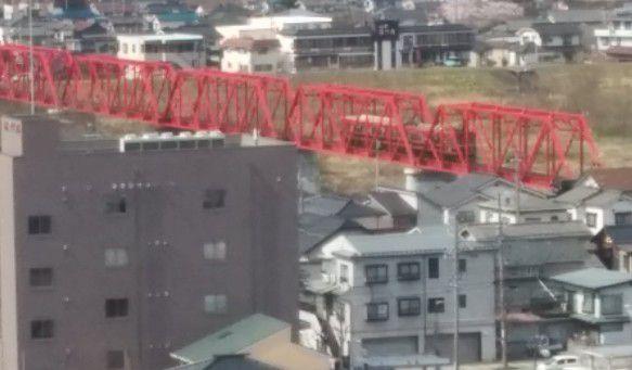 別所温泉駅に向かう上田電鉄別所線