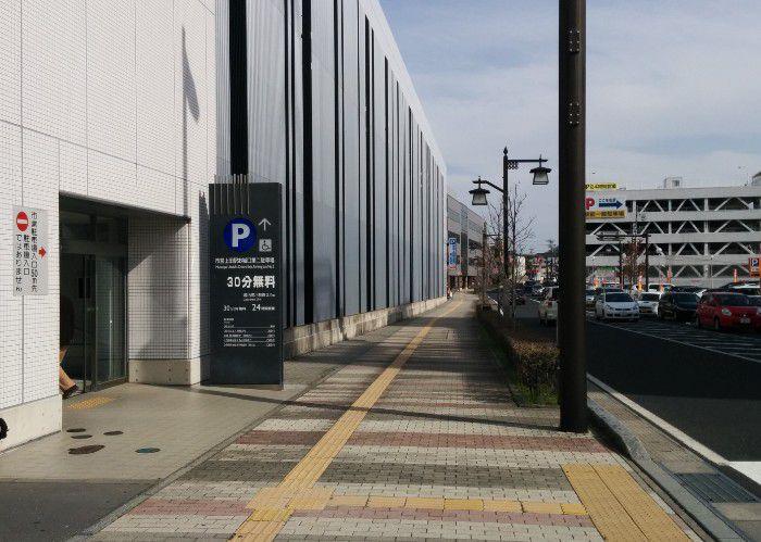 上田市営駐車場