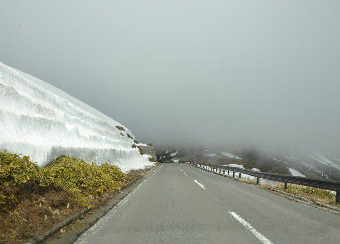 志賀草津高原ルートの道路の状態