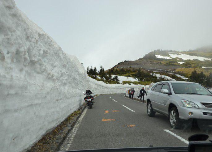 雪の回廊地点
