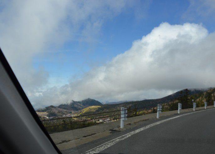 ドライブしながらの景色