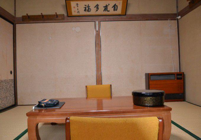夏目漱石が宿泊してた部屋