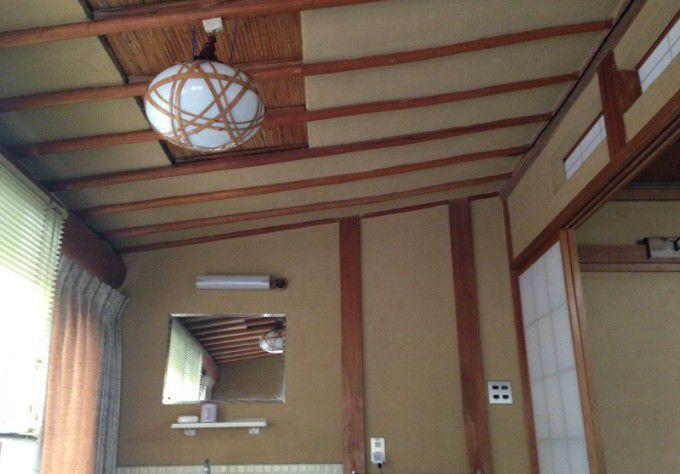 一般客室の天井