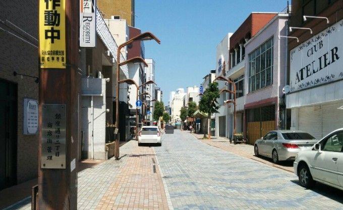 ゴーストタウン化してた前橋の商店街