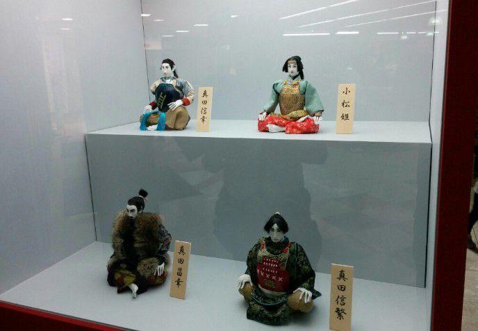 真田一族の人形