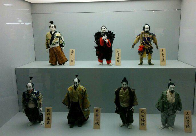 戦国武将人形