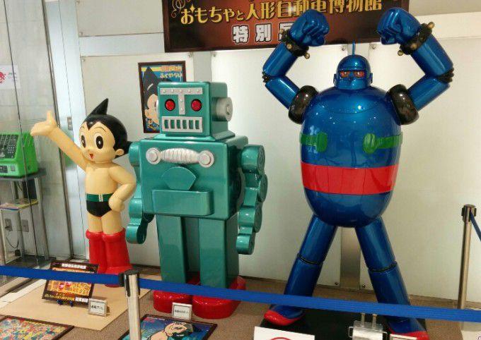 スズラン本店の中の特別展にあったキャラクター