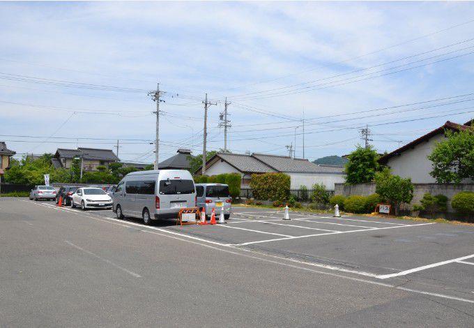 真田宝物館駐車場