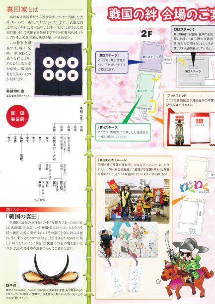 真田宝物館パンフレット2ページ目