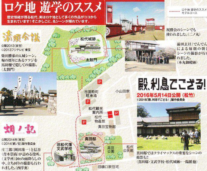 松代城が映画のロケ地