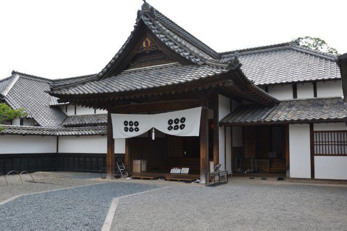 真田邸入口