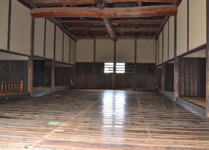 剣術所の内部
