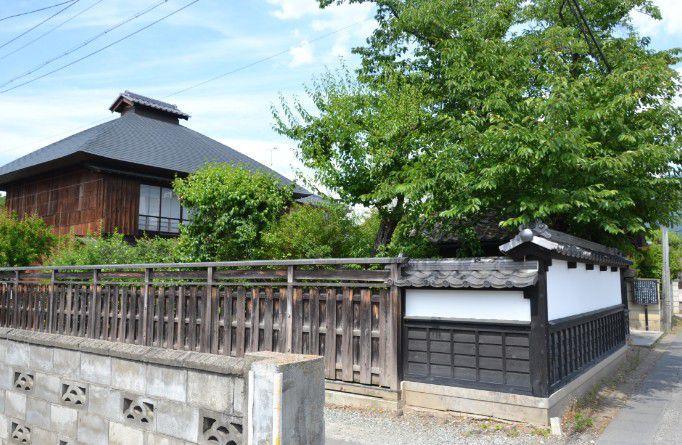 小山田家の屋敷