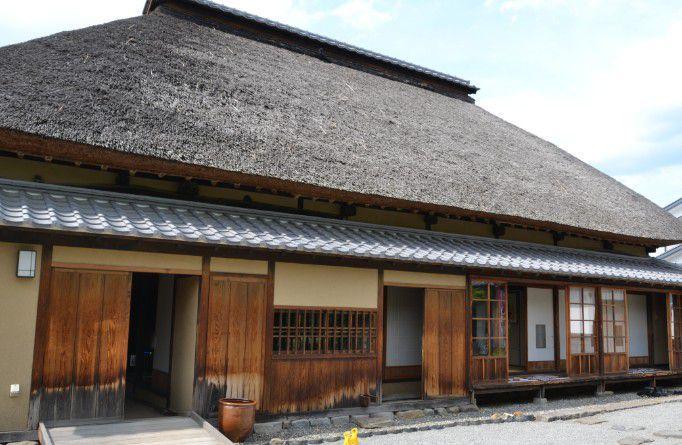 旧樋口家住宅の外観